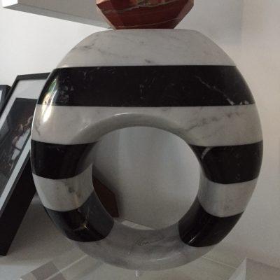 scultura claudia hamers artista mosti art sculptures laboratorio lavorazione marmo massa carrara alessandro mosti