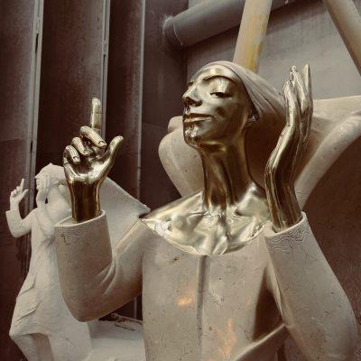 scultura granito mosti art sculptures laboratorio lavorazione marmo massa carrara alessandro mosti