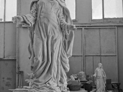 marco augusto duenas scultura marmo