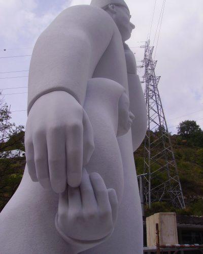 scultura jimenez deredia mosti art sculptures laboratorio lavorazione marmo massa carrara alessandro mosti