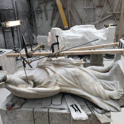 restauro duomo di milano mosti art sculptures laboratorio lavorazione marmo massa carrara alessandro mosti