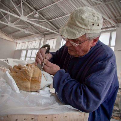 giuliano vangi scultore marmo